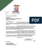 Consultora - Carta Presentación Gobierno Muni