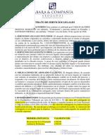 Contrato Santiago Ortega