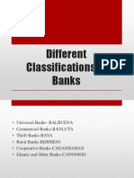 Different Classifications of Banks