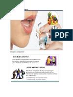 interacciones farmacocinetica cectec