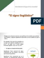 01 El Signo Lingüístico