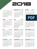 Berbagi Kalender 2018