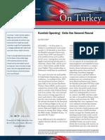 Kurdish Opening