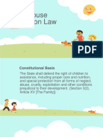 Child Abuse Protection Law