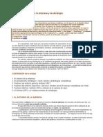 tema 2 El pensamiento estratégico y el entorno