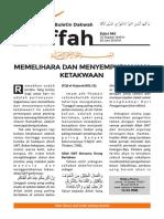 Edisi 045 Buletin Dakwah Kaffah
