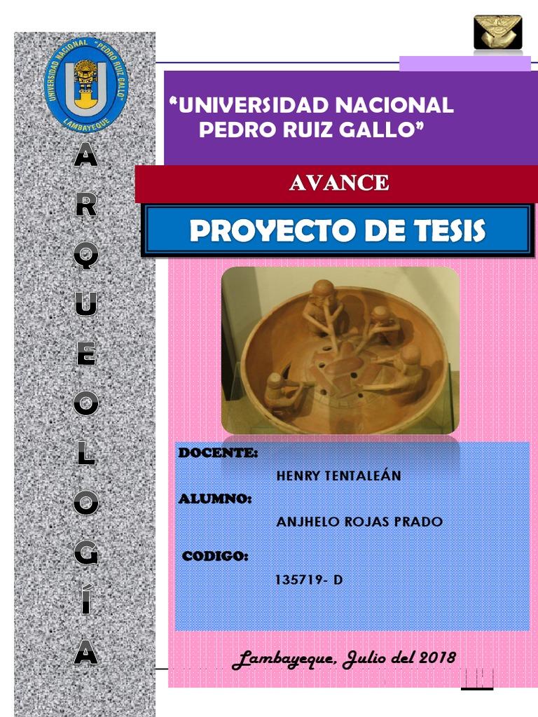 De Tesis Proyecto Proyecto De Proyecto Tesis Arqueología Arqueología PZiwuXkOT