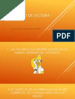 DECALOGO DE LECTURA - ESCRITURA.pps