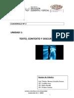 CUADERNILLO Nro2 2015 Lectura y Escritura en La Universidad