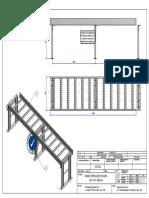Plano de Bandeja y Distribución de Soporte Estructural Doble Canal_cliente Esquivel