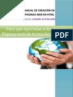Manual de Creación de Páginas web en HTML