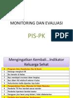 Monitoring Dan Evaluasi Pispk