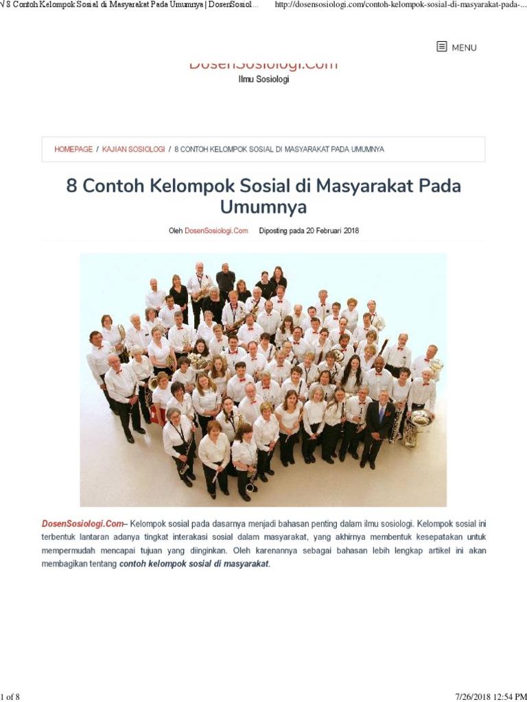 Makalah Kelompok Sosial