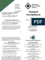 Passport Brochure 1.2016