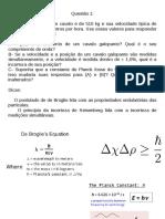 Lista Química I
