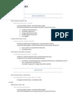 Chronological-resume-format-2018-sample-2.docx