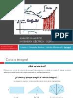 Análisis Numerico - Repaso Conceptos Básicos (Integral)
