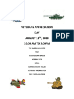 veterans appreciation 8-11-2018