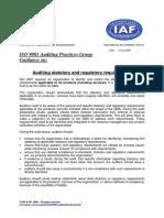 APG StatutoryRegulatory