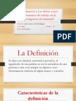 La Ficha informativa