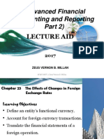 Chapter 23 the Effects of Changes in Foreign Exchange Rates