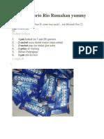 Cara Membuat Es Krim