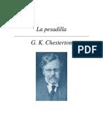 Chesterton, Gilbert Keith - La Pesadilla.pdf