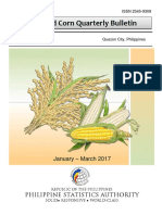 Palay and Corn Quarterly Bulletin Jan-Mar 2017