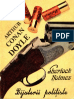 Arthur Conan Doyle - Sherlock Holmes - Bijuterii Politiste