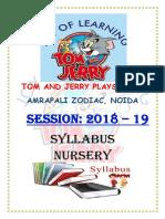 TomAndJerry Syllabus 2018-19