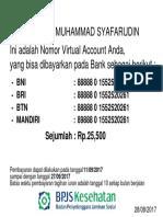Va an. Muhammad Syafarudin