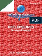 Reflepsiones. Revista de Psicología nº 22