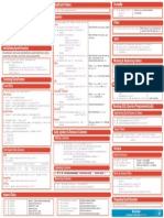 SQL Cheat Sheet Python