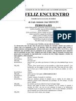 Goldoni, Carlo y Moncín, Luis Antonio José.- El Feliz Encuentro