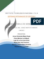 Unidad 1 Familias de las ISO 9000, 14000, 45000(18000) Y 31000, 126 PAG