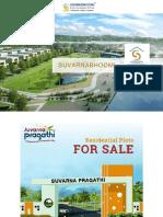 Commercial plots for sale - Suvarna pragathi - Suvarnabhoomi infra developers pvt ltd