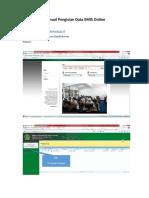 Manual Pengisian Data EMIS Online