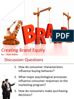 Brand Equity (Detailed Ppt)