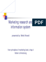 Marketing Research and Information System[Ppt]