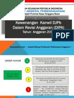 Revisi Kewenangan Kanwil DJPB