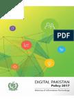 Digital Pakistan Policy 2017