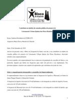 BE - participação na consulta pública do loteamento Quinta das Flores Residence