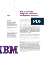 Integrated Healthcare Management from IBM and Cerner