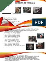 Hiasan Dinding 3D Termurah Fast Respon Call, Sms, WA