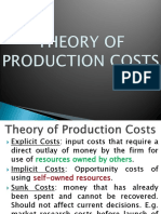 Lec10 Theory of Production Costs