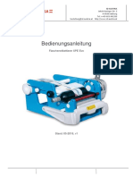 Bedienungsanleitung Flexlabeller XPE EVO