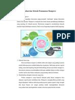 Manfaat Dan Metode Penanaman Mangrove FIX
