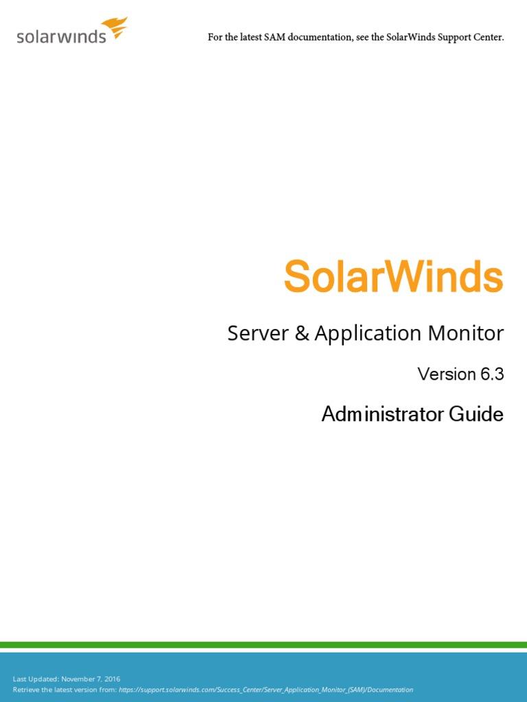 Sam Admin Guide   Web Application   Trademark