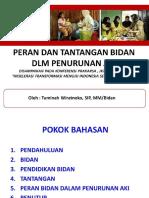Materi Tuminah Wiratnoko, SIP, MM - PERAN & TANTANGAN DLM PENURUNAN AKI.pdf