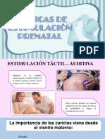 Técnicas de Estimulación Prenatal